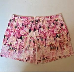 Inc international concepts pink floral shorts 10